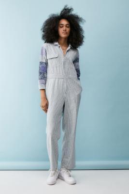 UO - Combi-pantalon à empiècements Danielle - Urban Outfitters - Modalova