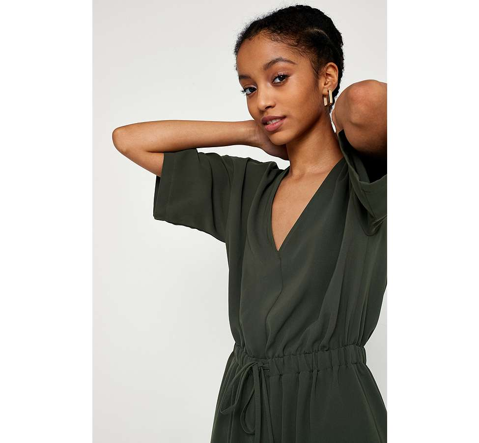 Slide View: 3: UO Tailored Slouch Jumpsuit