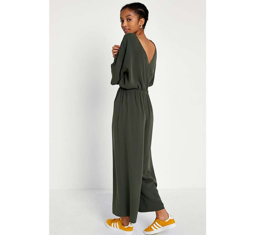 Slide View: 4: UO Tailored Slouch Jumpsuit