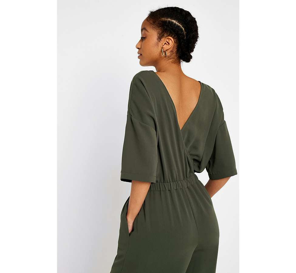 Slide View: 6: UO Tailored Slouch Jumpsuit