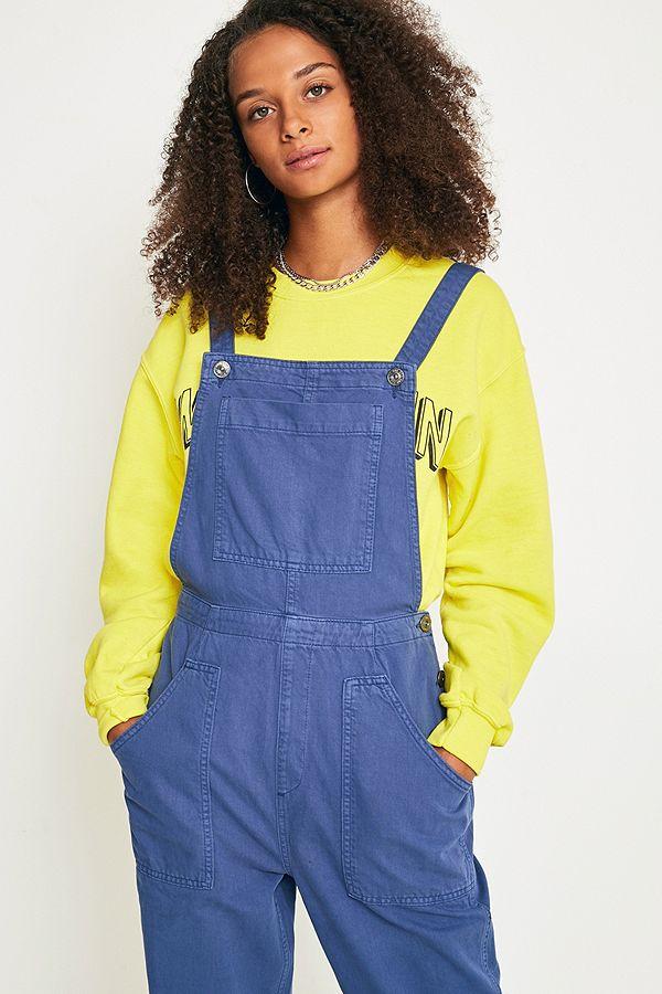 BDG – Latzhose aus Twill in Khaki   Urban Outfitters