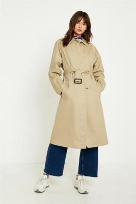 Urban Outfitters - UO Belted Trench Coat, Beige