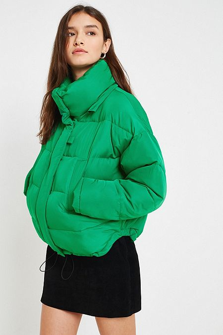 Women S Puffer Jackets Hooded Amp Cropped Padded Coats