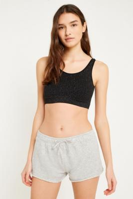Urban Outfitters - Cindy Lurex Bralette, Black