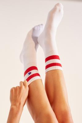 Champion Reverse Weave Sport Tube Socks   White by Champion