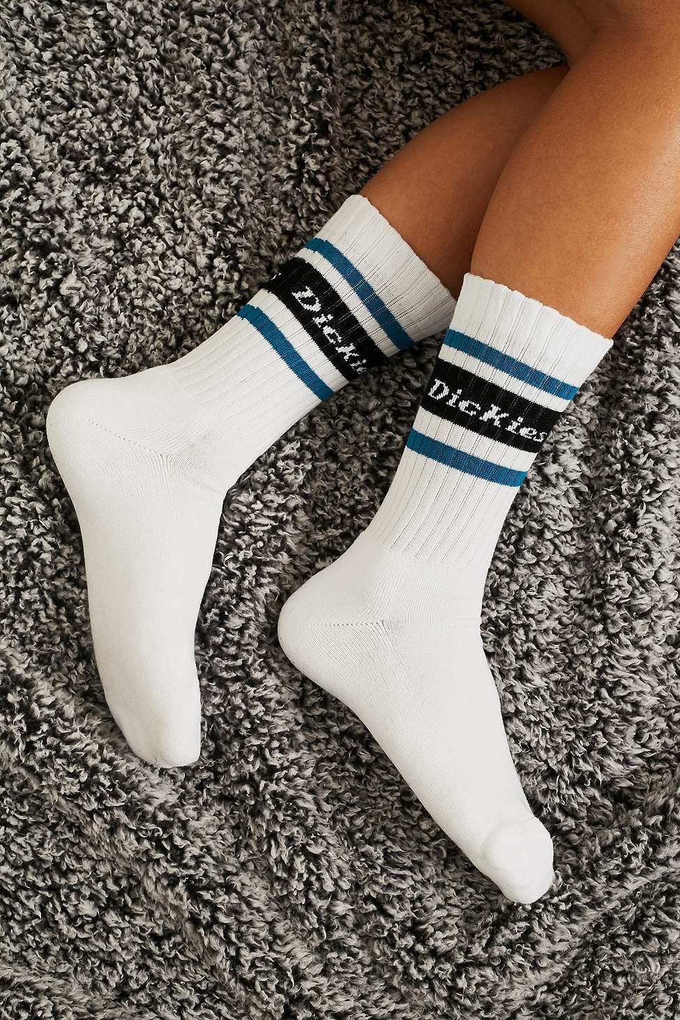 Slide View: 1: Dickies Madison Stripe Socks Pack