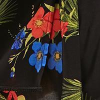 Schwarz/Mehrfarbig