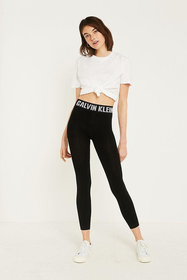 Calvin Klein Modern Cotton Footless Tights  d2a8d760fc201
