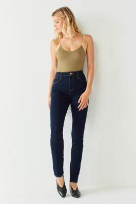 Out From Under - Out From Under Seamless Bungee Bodysuit, Khaki