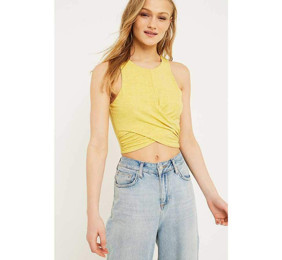 Slide View: 1: Urban Outfitters – Vorne verdrehtes Tanktop