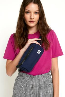 BDG - BDG Black Canvas Boxy Bum Bag, Blue