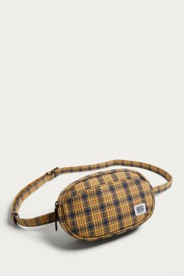 BDG - BDG Rounded Check Bum Bag, Yellow