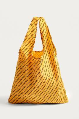 iets frans... - iets frans…  Logo Shopper Tote Bag, Yellow