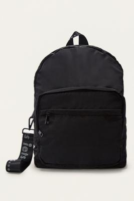 iets frans... - iets frans…  Black Nylon Backpack, Black