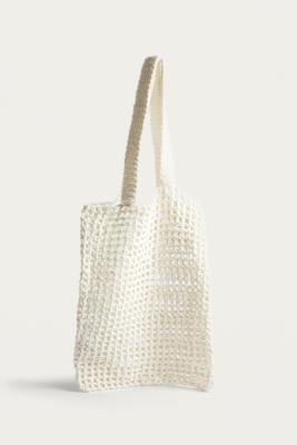 Cotton Woven Tote Bag by Urban Outfitters