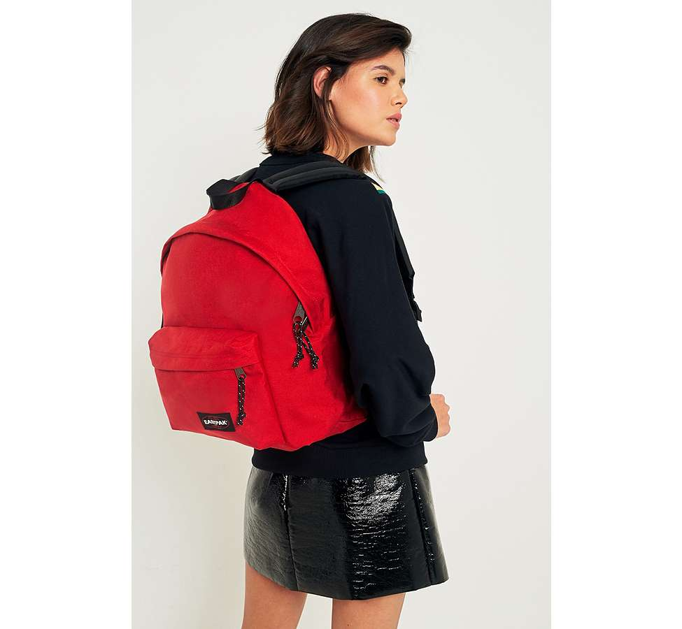 Slide View: 2: Eastpak Padded Pak'R Apple Pick Red Backpack