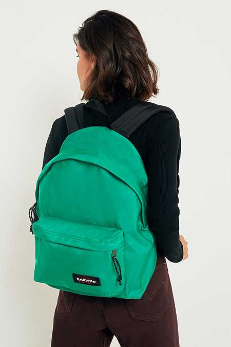 Eastpak Padded Pak'R Tagged Green Backpack