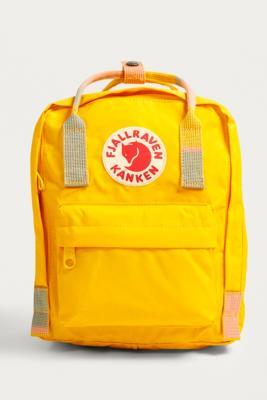 Fjallraven - Fjallraven Mini Kanken Warm Yellow Random Blocked Backpack, Yellow