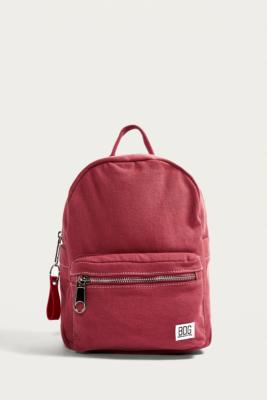 047a58a31a0e bdg-mini-canvas-pink-backpack by bdg