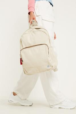 98c65feb9 Shoptagr | Bdg Ivory Canvas Backpack by Bdg