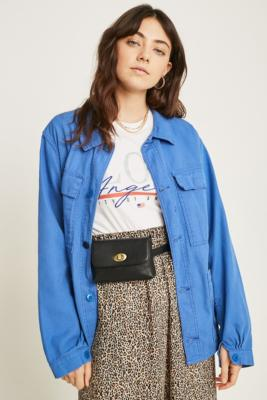 Lock Buckle Pu Belt Bag by Urban Outfitters