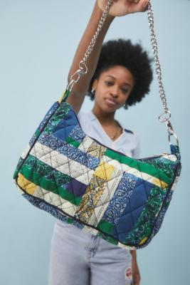 UO - Sac à bandoulière chaîne motif patchwork - Urban Outfitters - Modalova