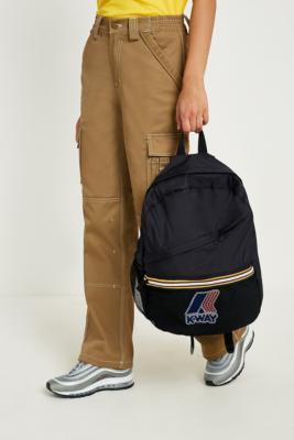 K-way - K-Way Black Packable Backpack, Black