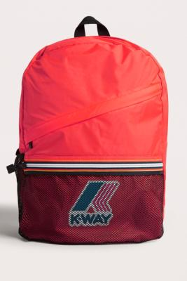 K-way - K-Way Red Packable Backpack, red