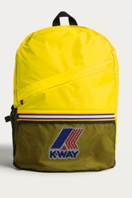 K-way - K-Way Yellow Packable Backpack, yellow