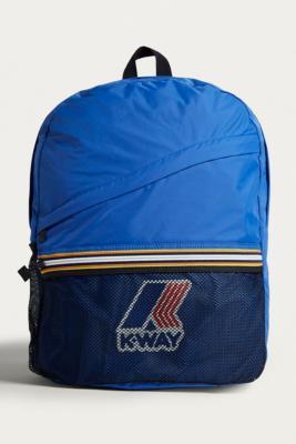 K-way - K-Way Blue Packable Backpack, Blue