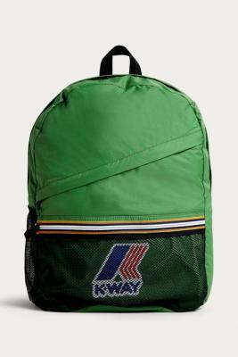 K-way - K-Way Green Packable Backpack, green