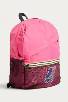 K-way - K-Way Pink Packable Backpack, pink