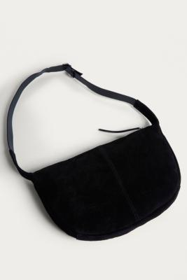 Urban Outfitters - UO Suede Sling Bag, Black