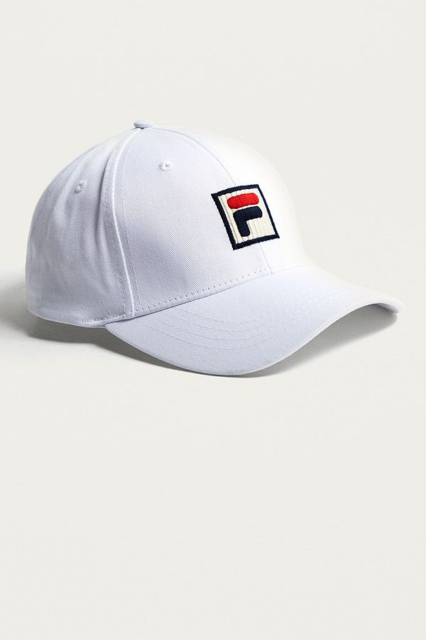 FILA Logo Patch Embroidered Cap  163614d0104