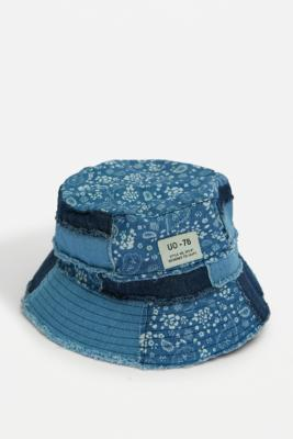 UO - Bob cachemire patchwork - Urban Outfitters - Modalova
