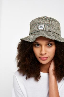 BDG - BDG Checked Bucket Hat, Brown