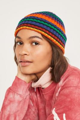 cb172e1518d UO Multicolour Stripe Knit Beanie