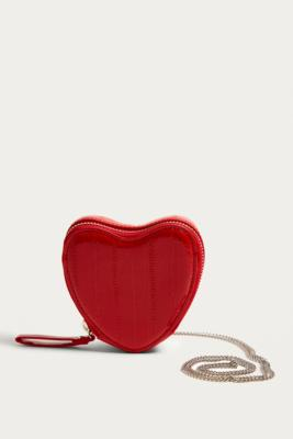 Urban Outfitters - Rachel Icon Heart Crossbody, Red