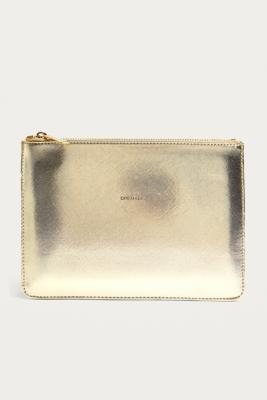 Estella Bartlett - Estella Bartlett Gold Embossed Dream Big Pouch, Gold