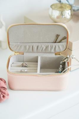 Estella Bartlett - Estella Bartlett Treasure Me Blush Pink Jewellery Travelling Case, Pink