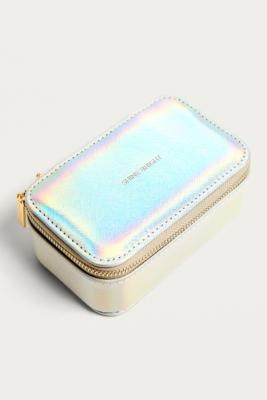 Estella Bartlett - Estella Bartlett Shine Bright Iridescent Jewellery Travelling Case, Silver