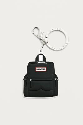 Hunter Black Backpack Keyring by Hunter