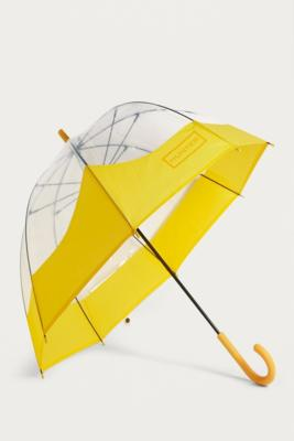 Hunter Original Yellow Moustache Umbrella by Hunter