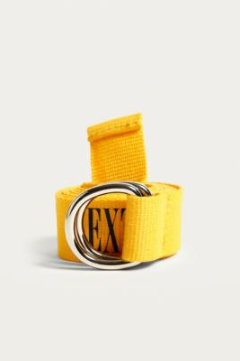 Urban Outfitters - Extreme Slogan Belt, Yellow