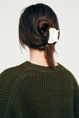 Urban Outfitters - Kitten Claw Hair Clip, White