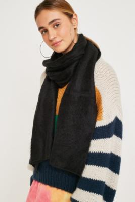 Solid Furry Scarf by Urban Outfitters