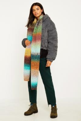 Uo Ombre Knit Scarf by Urban Outfitters