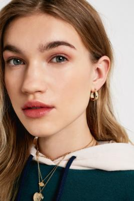 Gia Chunky Hoop Earrings by Urban Outfitters