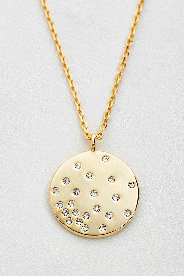estella bartlett cz diffusion pendant necklace urban outfitters