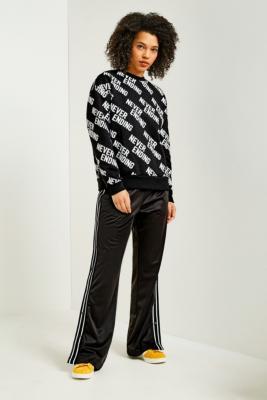 Fila - FILA Lauren Black Popper Track Pants, Black